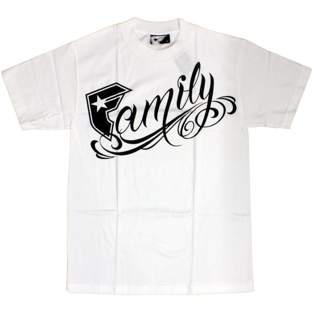 Famous Stars and Straps Family T-shirt White Black