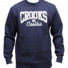 Crooks & Castles Money Core Logo Sweatshirt Navy