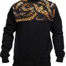 Crooks & Castles Python Sweatshirt Black