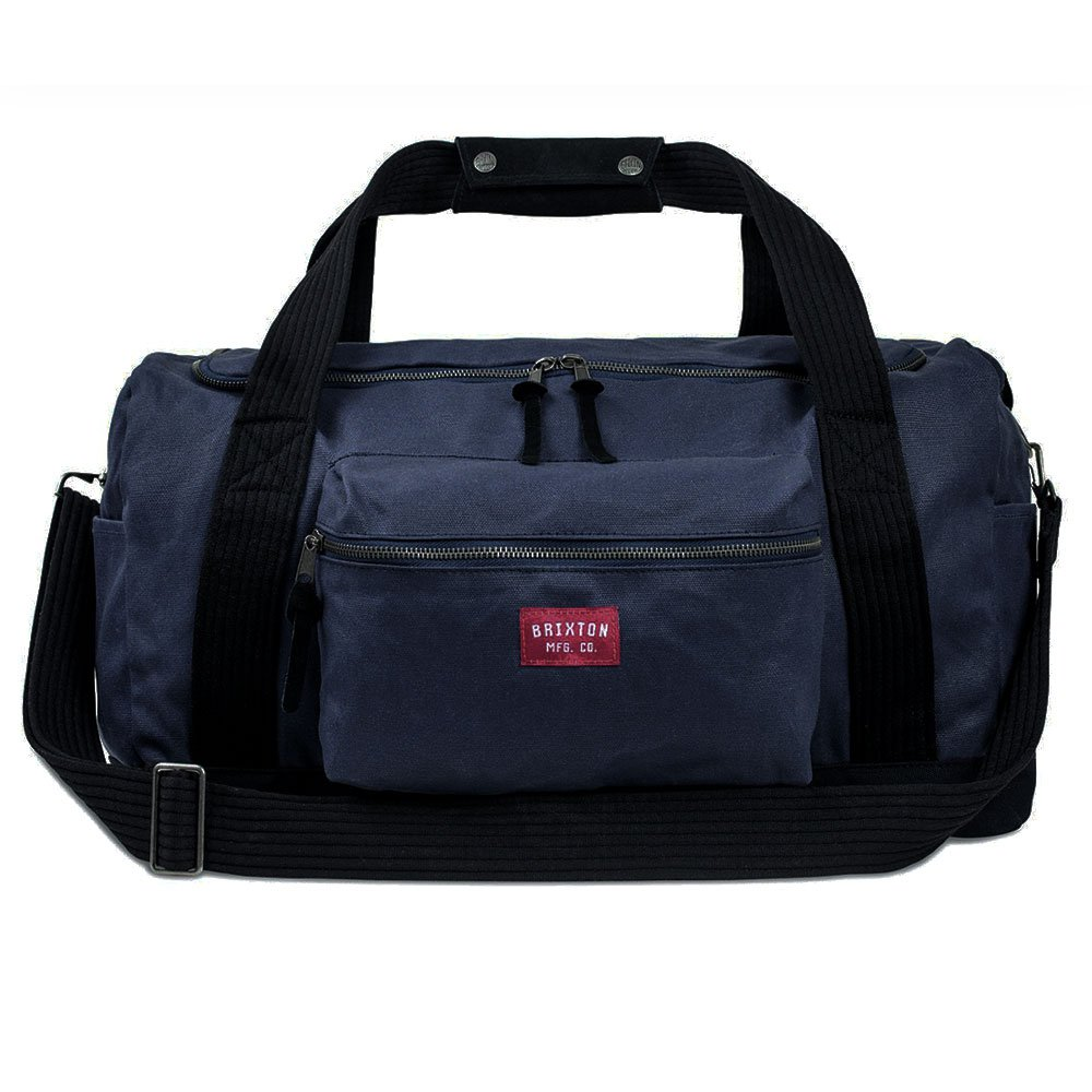 Brixton Expedition Bag Navy Black