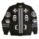 Crooks & Castles Black Order Jacket Black