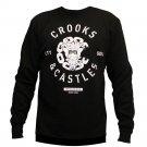Crooks & Castles Crooks Seal Sweatshirt Black