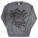 Crooks & Castles Olmec Medusa Sweatshirt Heather Grey