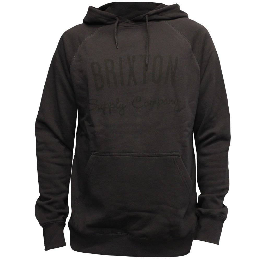Brixton Driven Pullover Hoodie Black