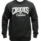 Crooks & Castles Money Core Logo Sweatshirt Black