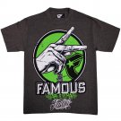 Twitch Famous Stars and Straps The Set T-shirt Charcoal Heather Lime