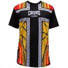 Crooks & Castles Hood Pope T-Shirt Black Multi