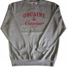 Crooks & Castles Cocaine & Caviar Sweatshirt Heather Grey Red