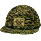 REBEL8 8TH Infantry 5 Panel Adjustable Baseball Cap Camo