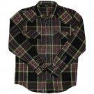 Lrg Sherlocked Flannel L/S Shirt Black