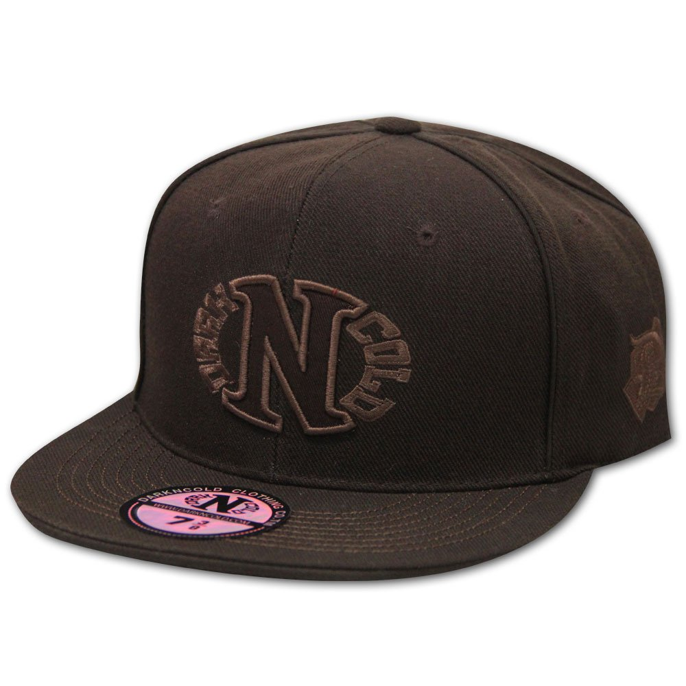 Dark n Cold Egg Logo Baseball Cap Brown