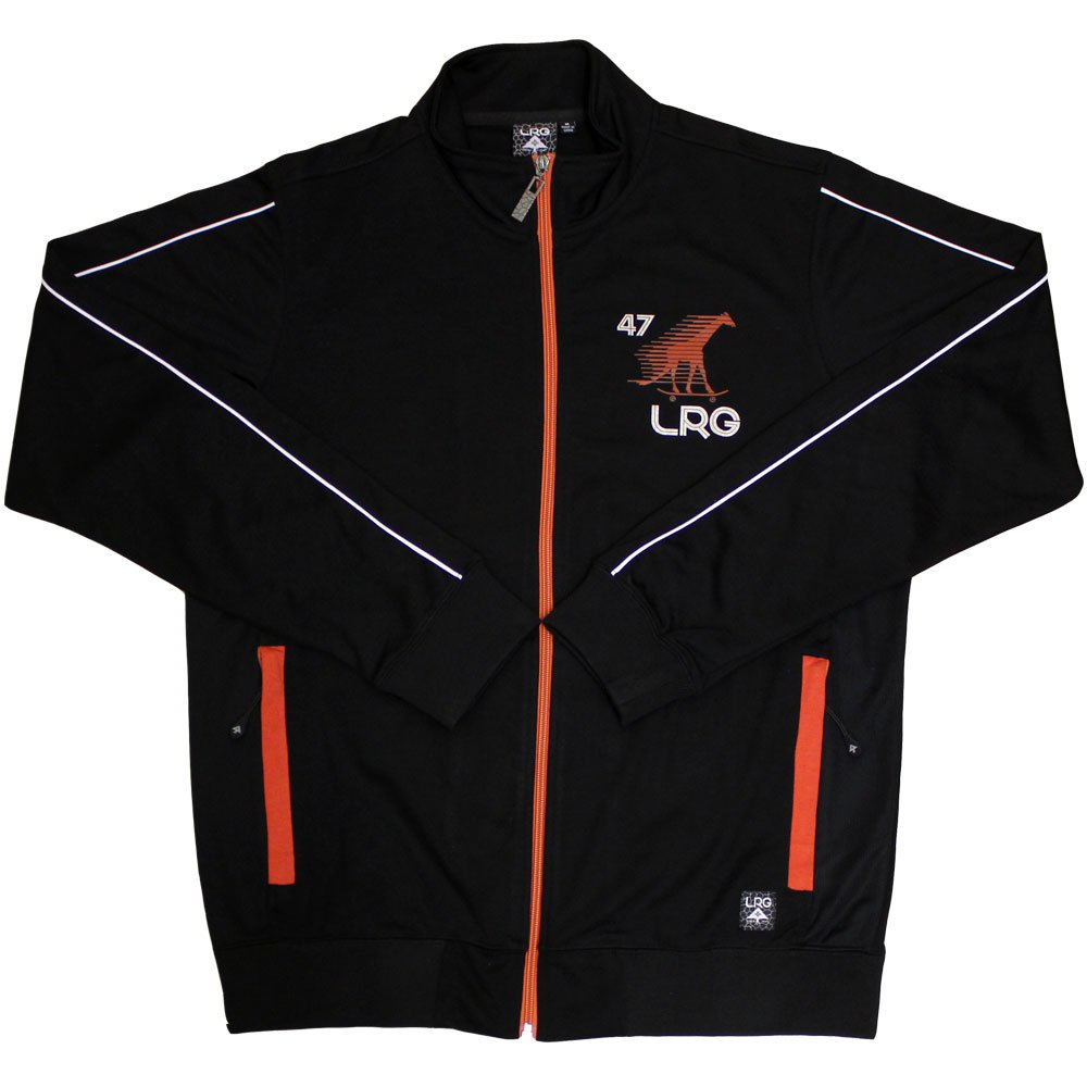 Lrg Research Collection Track Jacket Black