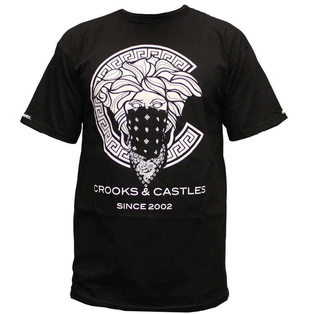 Crooks & Castles Greco Medusa T-shirt Black