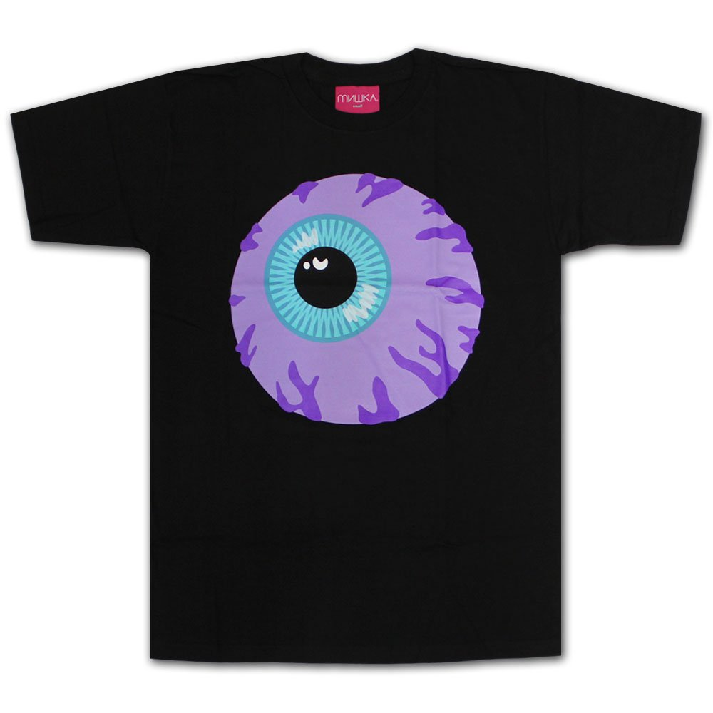 Mishka Keep Watch T-Shirt Black Lilac