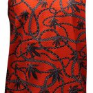 Crooks & Castles Chain Leaf Tank Top Red
