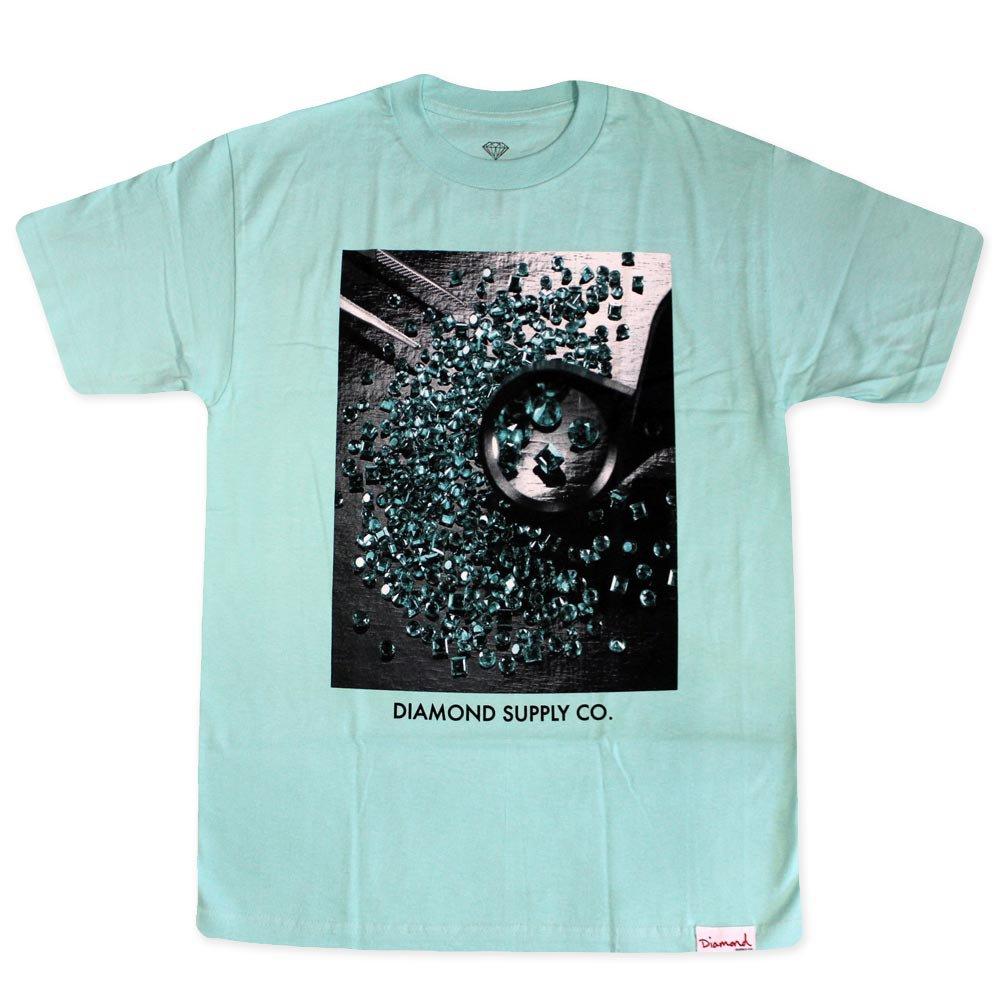 Diamond Supply Co Gem Quality T-shirt Diamond Blue