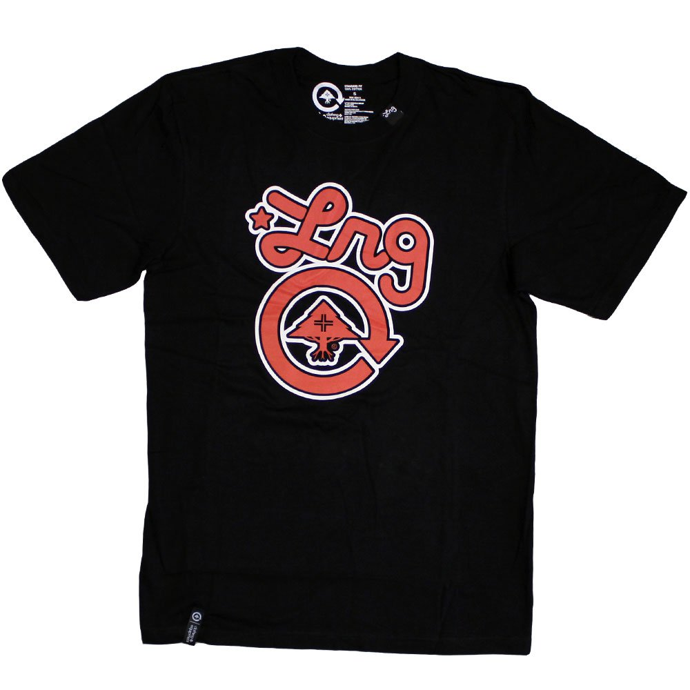 Lrg Core Collection One T-shirt Black Nantucket