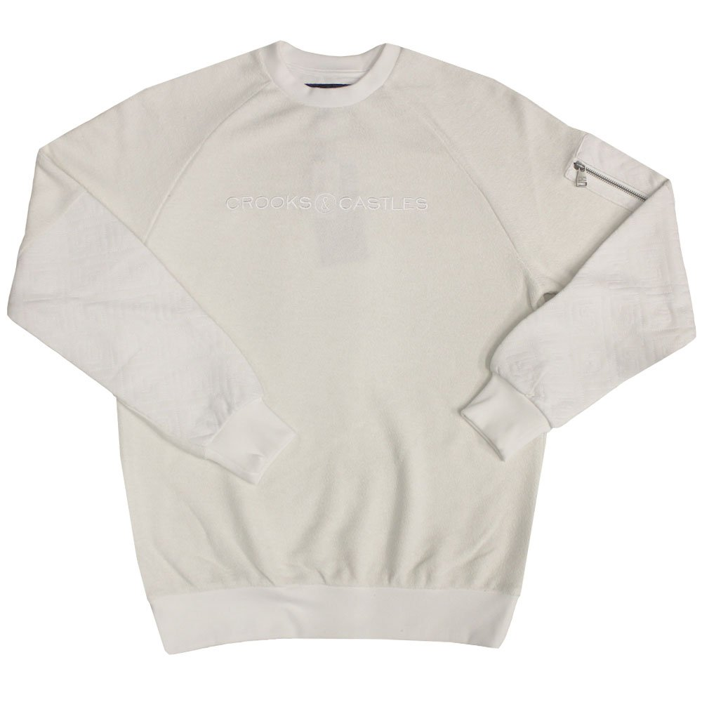 Crooks & Castles Grand Sweatshirt Ghost