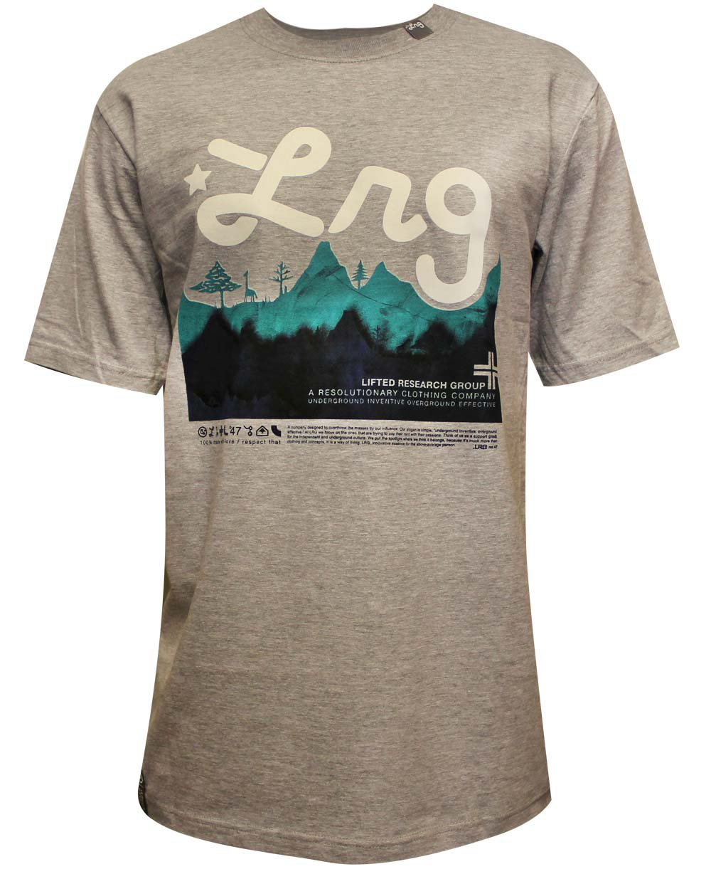 Lrg Core Collection Four T-Shirt Ash Heather