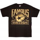 Famous Stars and Straps BOH MLB T-shirt Black Gold