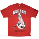 Famous Stars and Straps Rebel8 Earth Girls Are Easy T-Shirt Red