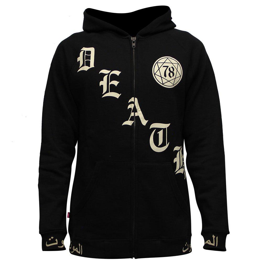 Mishka Creeping Death Slit Zip pullover hood Black