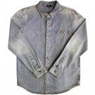 Lrg Pacific Crest Denim L/S Shirt Light Indigo Wash