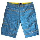 Lrg Somali Mens Cargo Shorts Light Teal