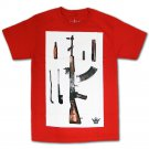 Mafioso Breakdown T-Shirt Red