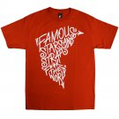 Famous Stars and Straps BOH FTW T-Shirt Red White