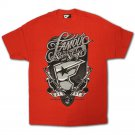 Famous Stars and Straps Rough House T-shirt Red