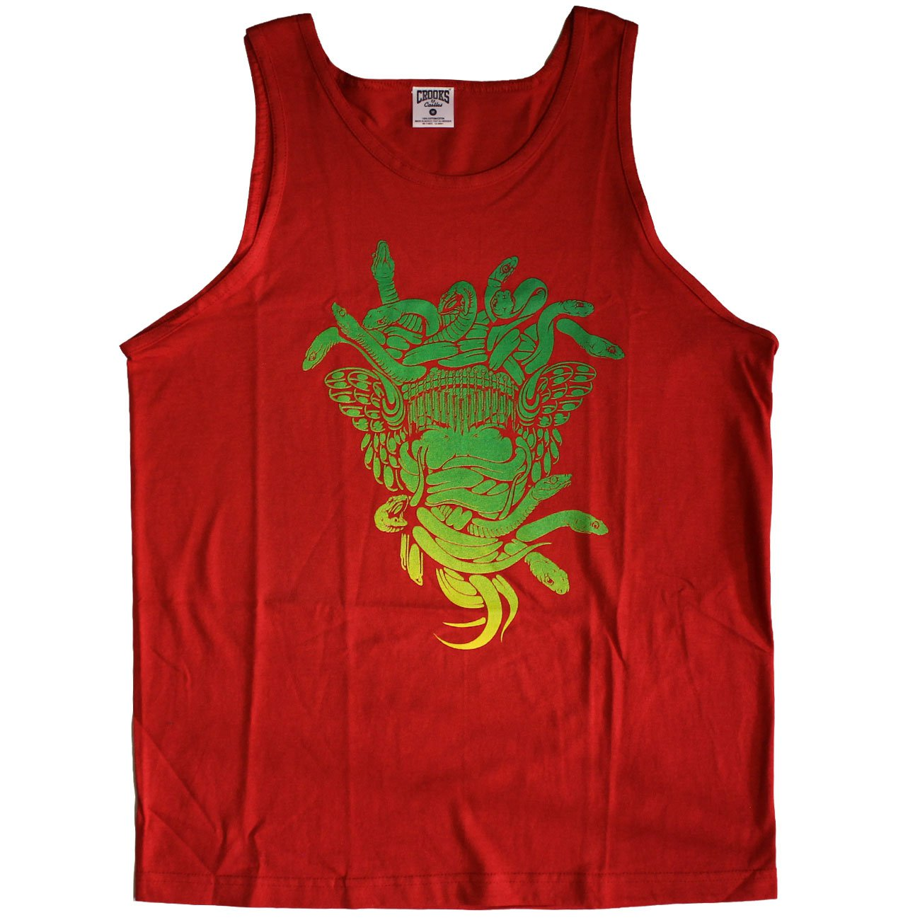 Crooks & Castles Medusa Gradient Tank Top True Red