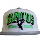 Famous Stars and Straps Reign Flex Fit Hat White