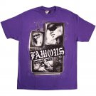 Famous Stars and Straps Living On Video T-shirt Purple