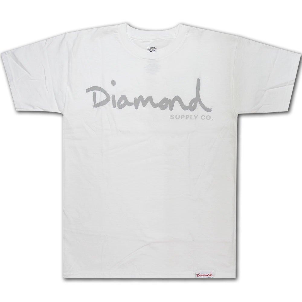 Diamond Supply Co Tonal OG Script T-Shirt White