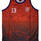 Crooks & Castles Trece Baseball Jersey Tank Top True Red
