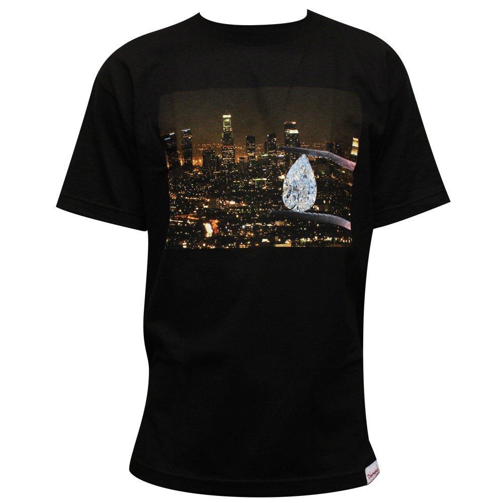 Diamond Supply Co LA Diamond T-shirt Black