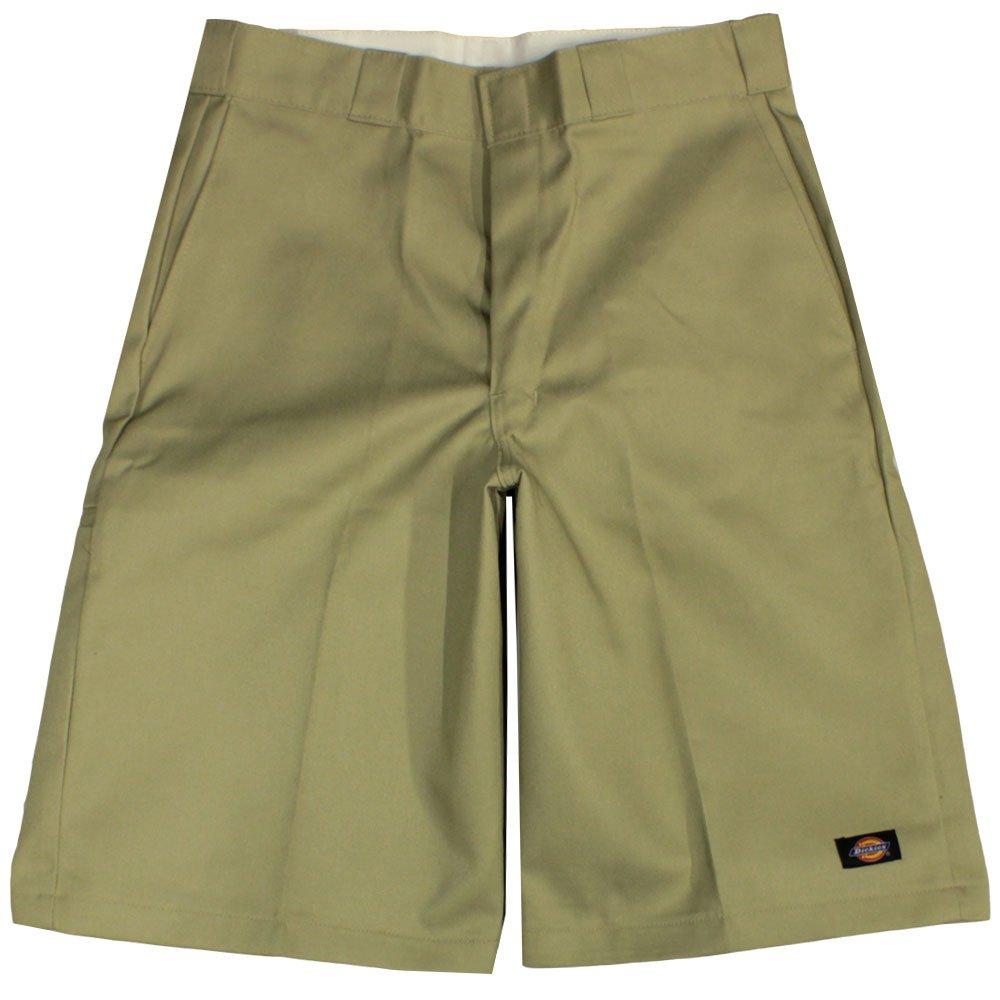 Dickies 13 inch Multi Pocket Work Shorts Khaki