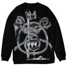 Mishka Oversized Guts Mop Sweatshirt Black