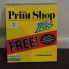 The Print Shop for APPLE IIGS, Creative Workshop Series, in box. LOOK!