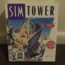 SIM TOWER - The Vertical Empire. RARE BIG BOX PC GAME by MAXIS. NICE COND! LOOK!