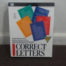 New SEALED Vintage Software 'CORRECT LETTERS' For DOS instant letters for every business situation