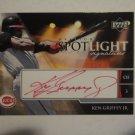 2006 Upper Deck Ovation Ken Griffey Jr. SPOTLIGHT SIGNATURES CARD, MINT Cond. LOOK!!