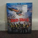 RED TAILS - WWII Movie, BLU-RAY + DVD, Cuba Gooding Jr. Used. LOOK!!!