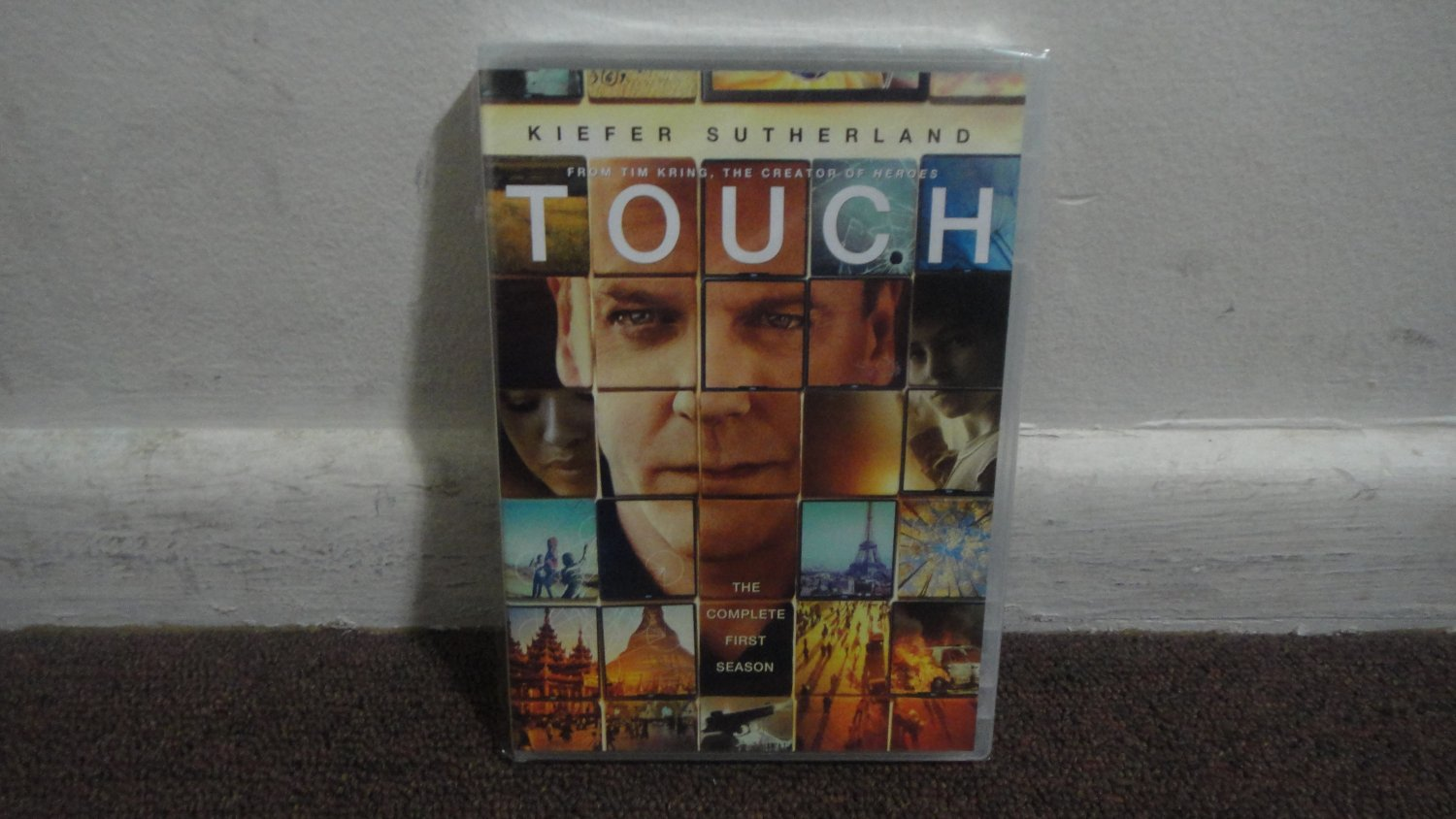 TOUCH - DVD: The Complete First Season, Season 1,  KIEFER SUTHERLAND, Brand New, Sealed. LOOK!!!