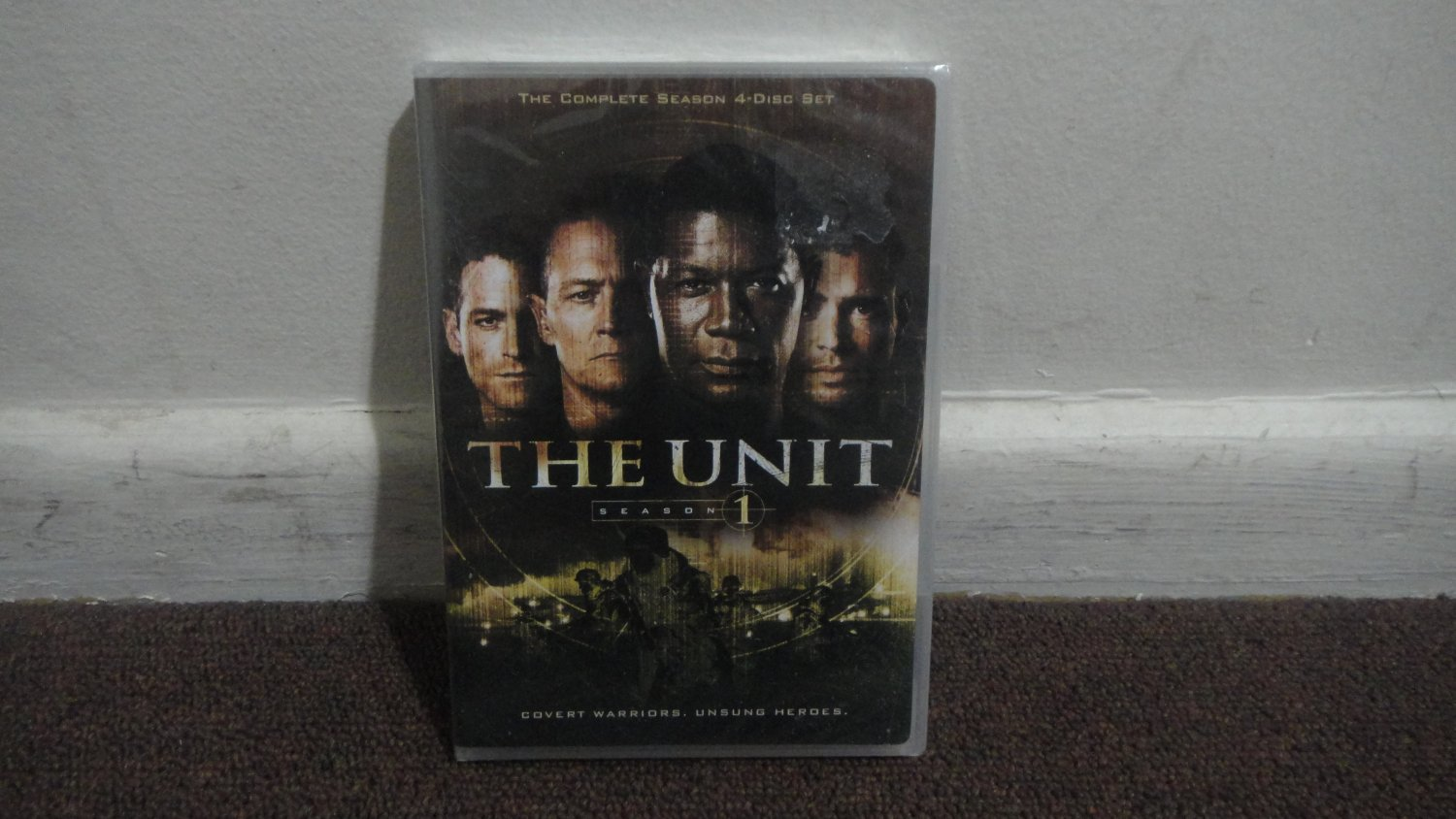 THE UNIT - DVD: The First Season, Season 1, Brand New, Sealed. LOOK!!!