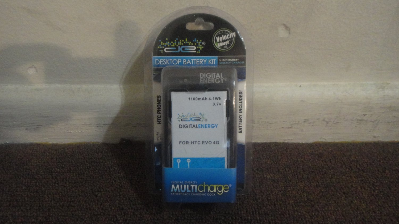 HTC Evo 4G Digital Energy Desktop Battery Kit. New in package. Free Shipping 230-1344. LOOK!!