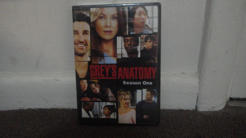 GREY'S ANATOMY - DVD SET: The 1st Season, Season 1, Opened, New. LOOK!!!
