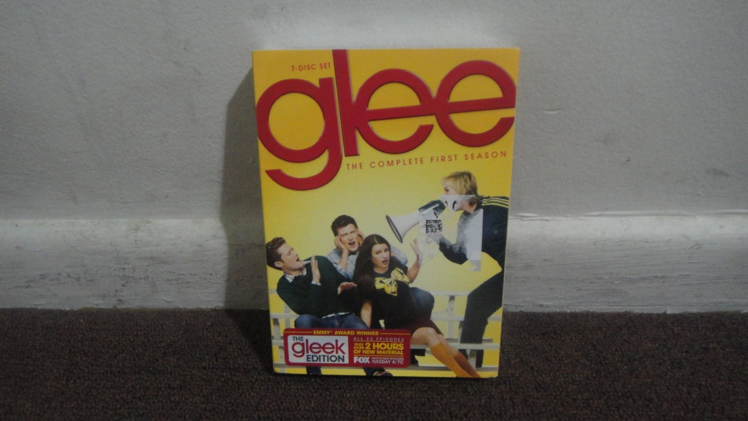 glee - DVD: The Complete First Season, Season One, Brand New, Sealed. LOOK!!!