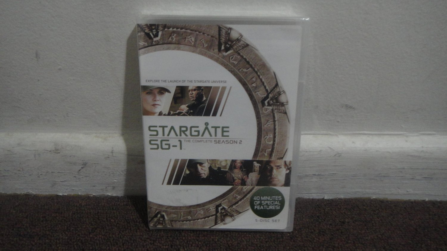 STARGATE SG-1 - DVD SET: The Complete 2nd Season, Season 2, Brand New, Sealed. LOOK!!!